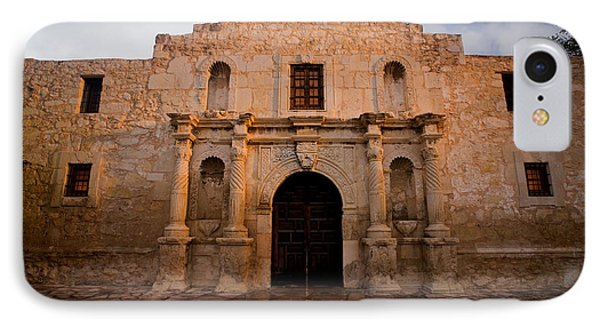 San Antonio Alamo At Sunrise IPhone Case by Samuel Kessler