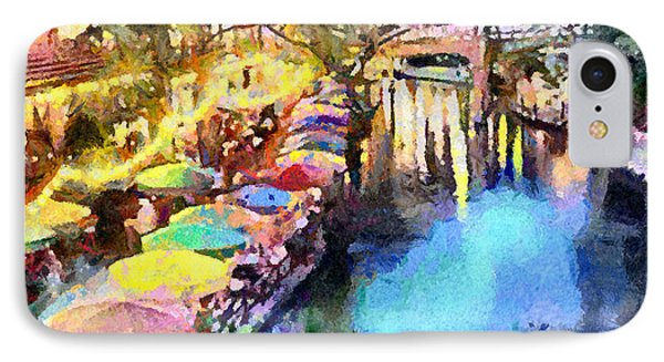 San Antonio River Walk IPhone Case by Anthony Caruso