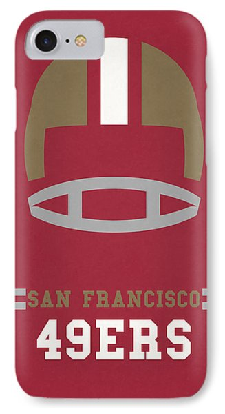 San Francisco 49ers Vintage Art IPhone 7 Case by Joe Hamilton