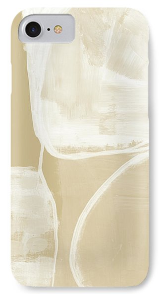 Sand And Stone 5- Contemporary Abstract Art By Linda Woods IPhone Case by Linda Woods