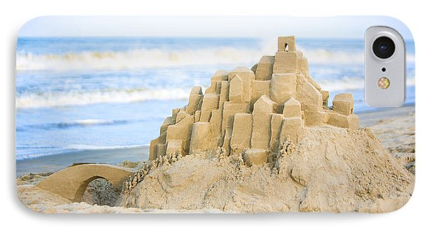 Sand Castle IPhone Case by Diane Diederich