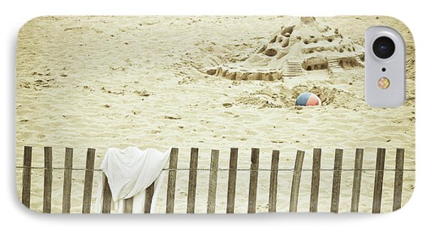 Sandcastle On The Beach IPhone Case by Colleen Kammerer