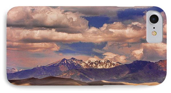 Sand Dunes - Mountains - Snow- Clouds And Shadows Phone Case by James BO  Insogna
