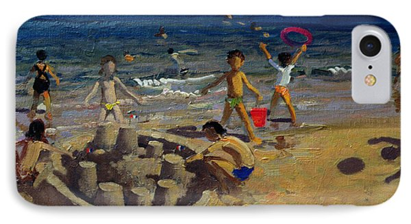 Sandcastle IPhone Case by Andrew Macara