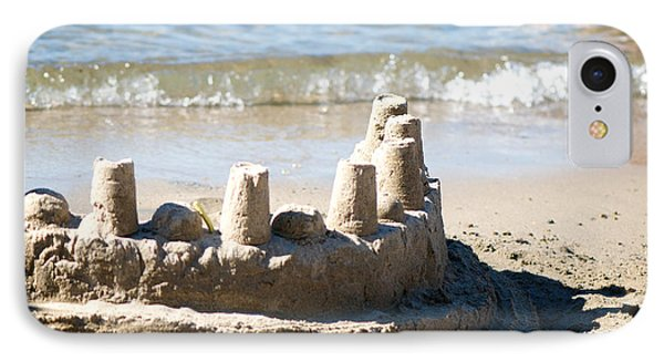 Sandcastle  IPhone Case by Lisa Knechtel