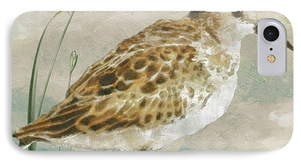 Sandpiper I IPhone Case by Mindy Sommers