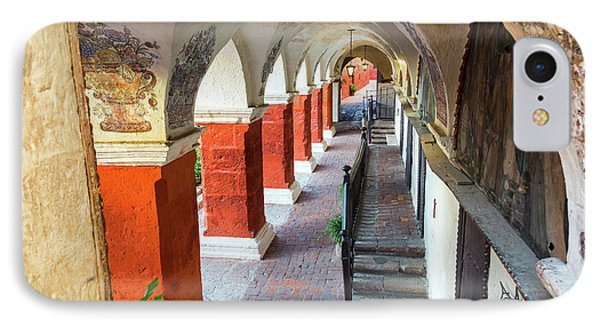 Santa Catalina Monastery Corridor IPhone Case by Jess Kraft
