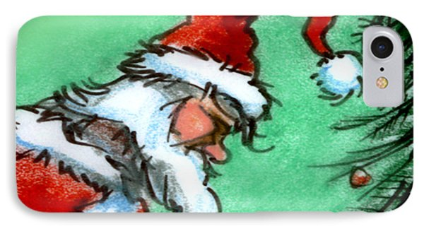 Santa Claus Phone Case by Kevin Middleton
