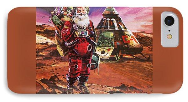 Santa Claus On Mars IPhone 7 Case by English School