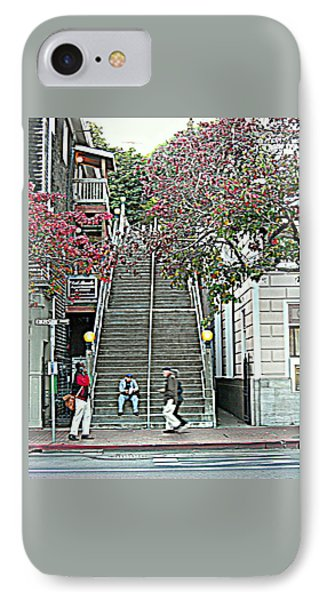Sausalito Stairs IPhone Case by Maro Kentros