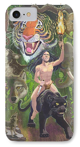 Savage IPhone 7 Case by J L Meadows