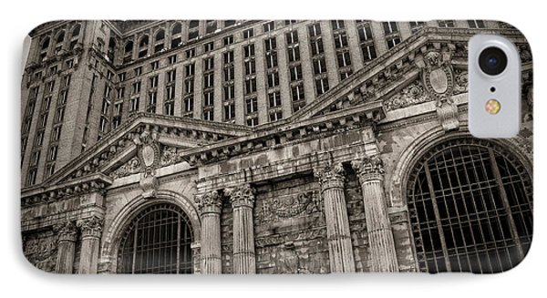 Save The Depot - Michigan Central Station Corktown - Detroit Michigan Phone Case by Gordon Dean II