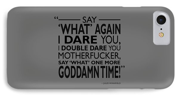 Say What Again IPhone Case by Mark Rogan