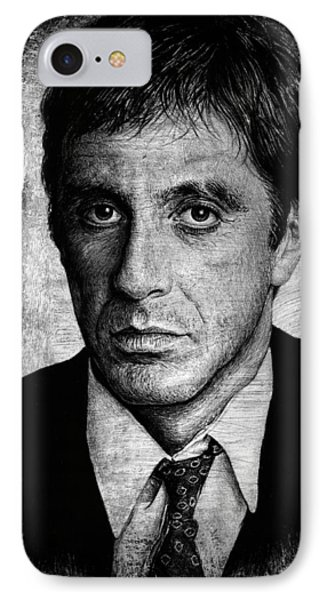 Scarface  IPhone Case by Andrew Read