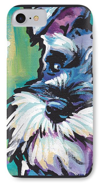 Schnauzer  IPhone Case by Lea S