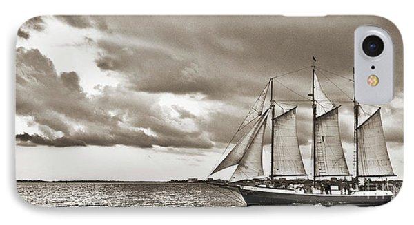 Schooner Pride Tallship Charleston Sc IPhone Case by Dustin K Ryan