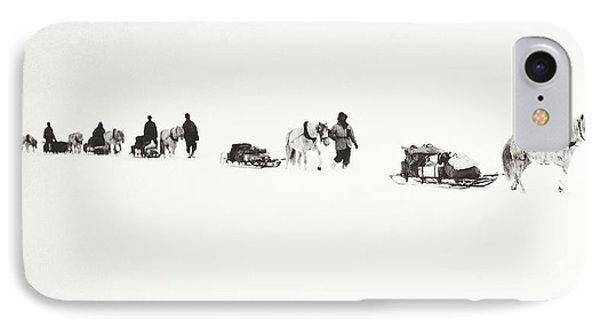 Scott Of The Antarctic IPhone Case by Robert Falcon Scott