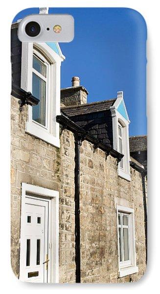 Scottish Homes IPhone Case by Tom Gowanlock