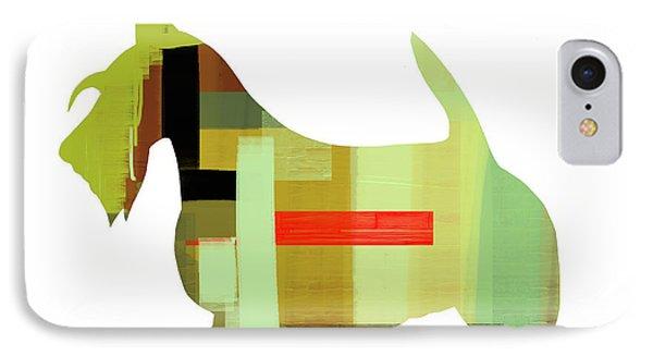 Scottish Terrier Phone Case by Naxart Studio