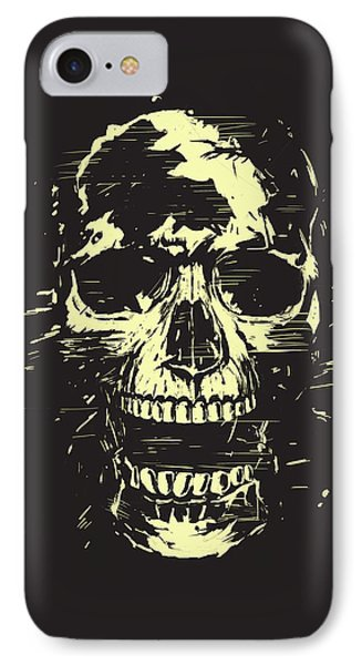 Scream IPhone Case by Balazs Solti