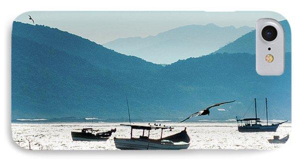 Sea And Freedom IPhone Case by Martin Lopreiato
