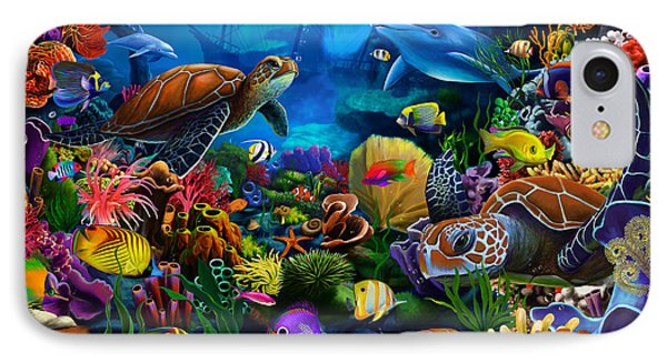 Sea Of Beauty IPhone Case by Gerald Newton
