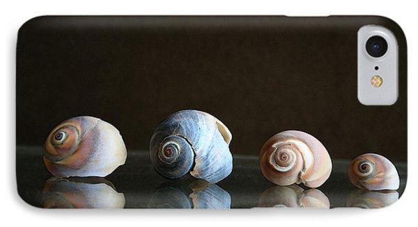 Sea Snails Phone Case by Linda Sannuti