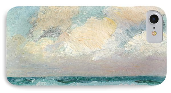 Sea Study - Morning IPhone Case by AS Stokes