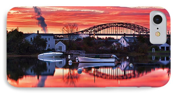 Seacoast Sundown IPhone Case by Eric Gendron