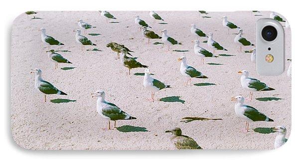 Seagulls  IPhone 7 Case by Ariane Moshayedi
