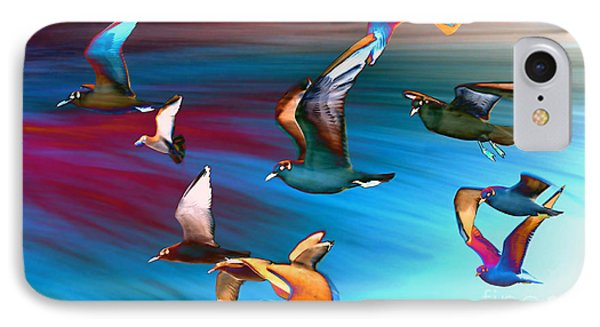 Seagulls IPhone Case by Jacky Gerritsen