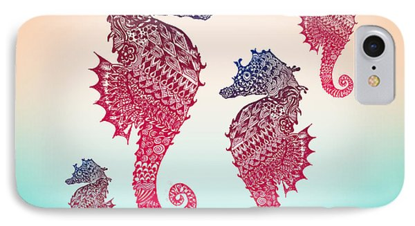 Seahorse IPhone 7 Case by Mark Ashkenazi