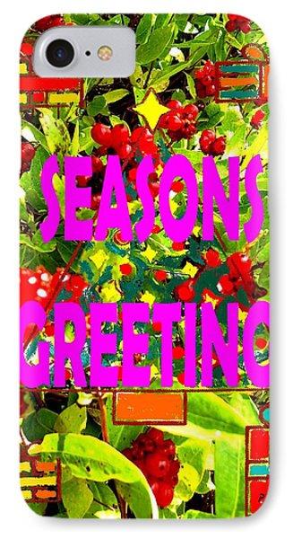 Seasons Greetings 10 Phone Case by Patrick J Murphy