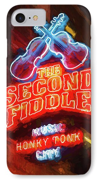 Second Fiddle - Impressionistic IPhone Case by Stephen Stookey