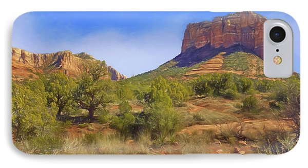 Sedona Landscape - 1 - Arizona IPhone Case by Nikolyn McDonald