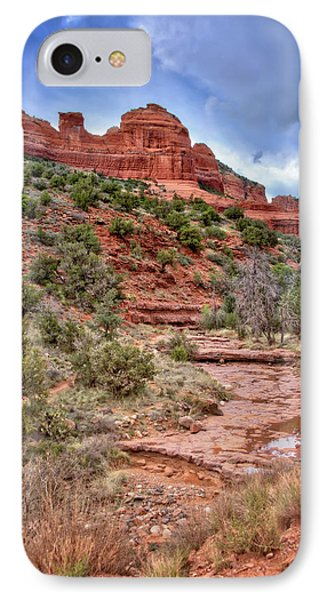 Sedona Red Rocks #3 IPhone Case by Jennifer Rondinelli Reilly