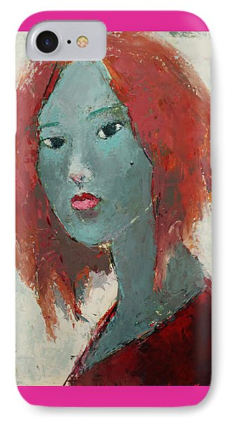 Self Portrait 1502 IPhone Case by Becky Kim