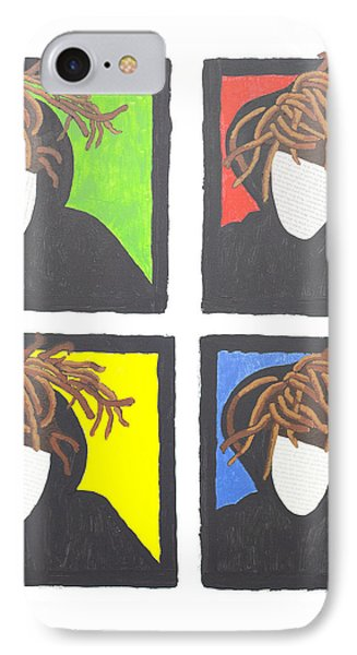 Self-portrait/ The Four Loves IPhone Case by Jacqueline S Hill