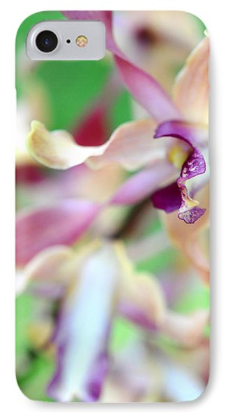 Sensual Touch Of Exotic II. Orchid II Phone Case by Jenny Rainbow