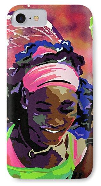 Serena IPhone 7 Case by Chelsea VanHook