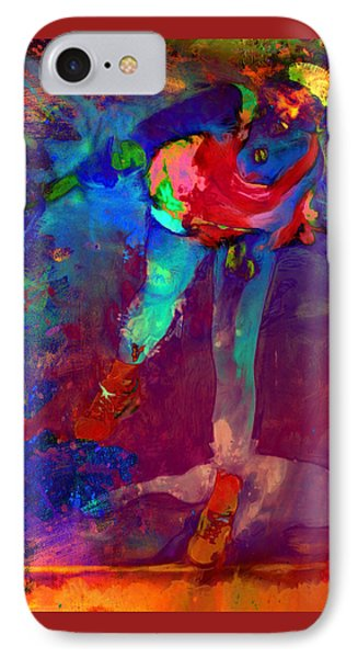 Serena Williams Return Explosion IPhone Case by Brian Reaves