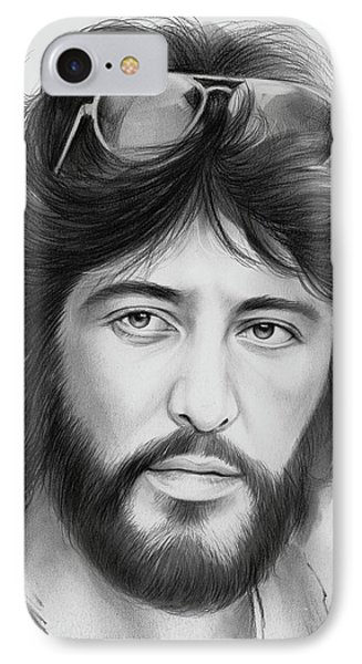 Serpico IPhone Case by Greg Joens
