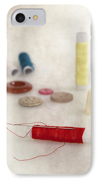 Sewing Supplies IPhone Case by Joana Kruse
