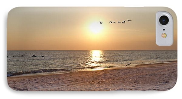 Shackleford Banks Sunset IPhone 7 Case by Betsy Knapp