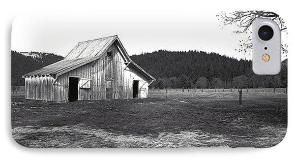 Shasta Barn IPhone Case by Kathy Yates