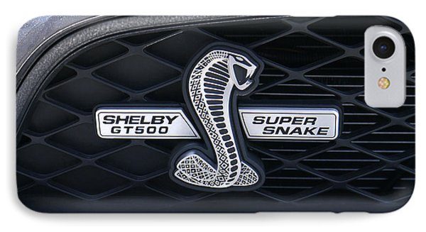 Shelby Gt 500 Super Snake IPhone 7 Case by Mike McGlothlen