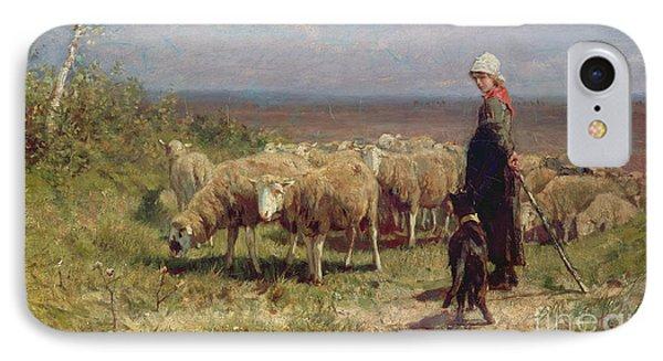 Shepherdess IPhone Case by Anton Mauve