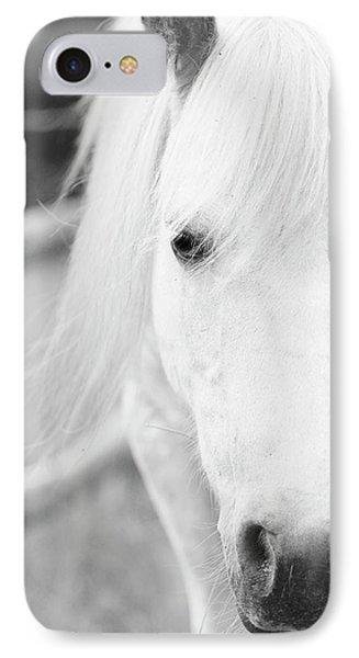 Shetland Pony IPhone 7 Case by Tina Lee