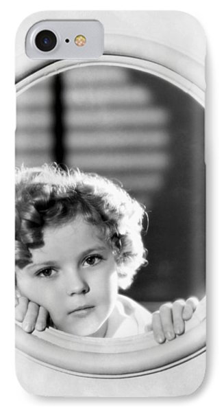 Shirley Temple (1928-2014) IPhone Case by Granger