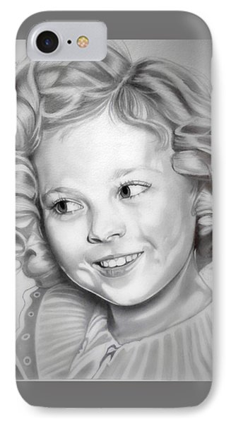 Shirley Temple IPhone 7 Case by Fred Larucci
